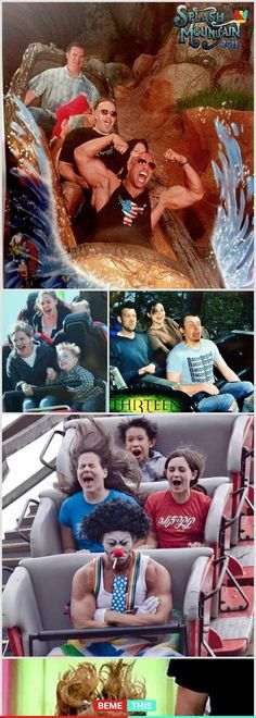 10+ Of the Most Hilarious Roller Coaster Photos That Will Make You Laugh #photos #rollercoaster #funnypics