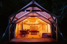 2.Baytex Canopy Deluxe Glamping Tent - Product Showroom-small