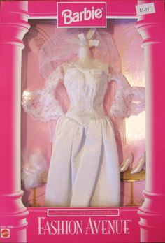 Barbie Fashion Avenue -  Bridal #15899 - 1996 http://my80schildhood.blogspot.ca/2014/01/barbie-fashion-avenue_18.html