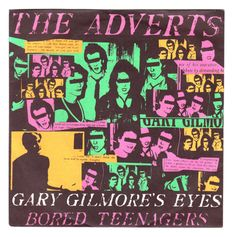 Sleeve for The Adverts' single Looking through Gary Gilmore's Eyes/Bored Teenagers, 1977