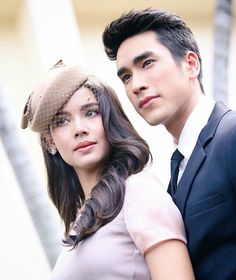 Thai Princess, Ulzzang Couple, Thai Drama, Muslim Couples, Sweet Couple, Actor Model, The Crown, Celebrity Couples, Gossip Girl
