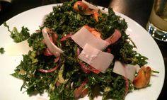 Kale w/ Blood Orange and Caramelized Cashews