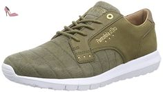 Pantofola d'Oro  Sicily Low Men, Sneakers basses hommes - Vert - Grün (Military Olive), 44 EU - Chaussures pantofola doro (*Partner-Link)
