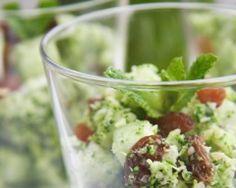 Taboulé fraîcheur au brocoli cru
