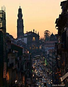 Clérigos street