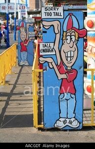 Sign with height requirements for amusement park ride Astroland Coney Island Brooklyn New York City USA Circus Theme, Circus Party, Circus Birthday, School Themes, School Decorations, Backyard Carnival, Bible School Crafts, Bible Crafts, Coaster Crafts
