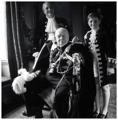 Winston Churchill, his son Randolph, and grandson Winston taken on the occasion of the coronation of Queen Elizabeth II. Winston Churchill, Churchill Quotes, Mike Todd, Jackie Kennedy, Citations Churchill, Order Of The Garter, History Online, Isabel Ii, Tatoo