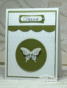 Papillon Potpourri for Silke by bon2stamp - Cards and Paper Crafts at Splitcoaststampers