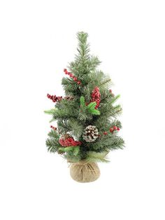 Artificial - Sparkle Pine Christmas Tree - Green Gold