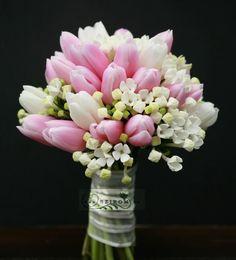 tulipán gyöngyvirág csokor - Google keresés