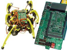 BOT-LOGIC Hexapod with Arduino Powered 30 amp Robot Shield by Efficient Computer Systems, LLC — Kickstarter