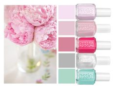 """""""peony polish"""" by stylist-couture ❤ liked on Polyvore"""
