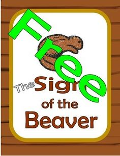 Sign of the Beaver Wanted Poster. Use this Sign of the Beaver Wanted Poster to emphasize reading for detail, and character traits. Take out your crayons and lets make a Sign of the Beaver Wanted Poster. More fun with Sign of the Beaver. Find the Novel Unit here:Sign of the Beaver Novel Study How to get TPT credit to use on future purchases:   * Please go to your My Purchases  page (you may need to login).