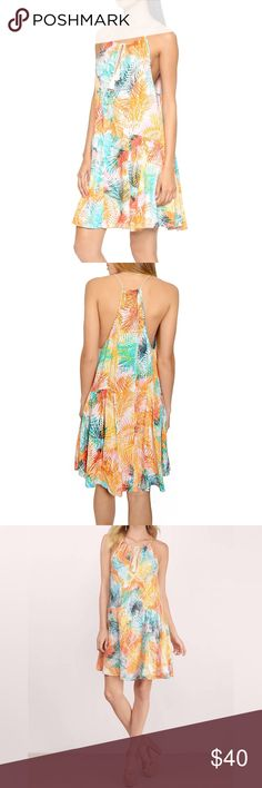 ✨NWT Urban Outfitters Sun Dress Urban Outfitters-Some Days Lovin Palm Tree Dress Size XS. NWT Urban Outfitters Dresses