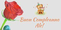 Crea cartoline personalizzate di compleanno | Buon Compleanno Ale!