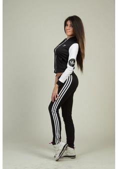 Спортивный костюм Адидас АИ-1160 (цвет черный)