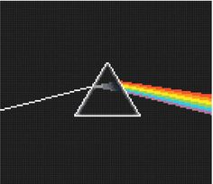 Dark Side of the Moon Cross Stitch Chart PDF by thatquietchick