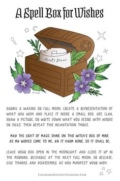 Cast a Legit Happiness Spell on Yourself, Explained by a Real Witch Spell box for Wishes This image has get.