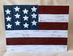 American Flag  Pallet Flag  USA by BareWoodDesigns on Etsy, $45.00
