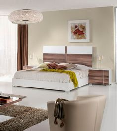 Nova Domus Romano Italian Modern Ebony Eastern King Bedroom Set ...