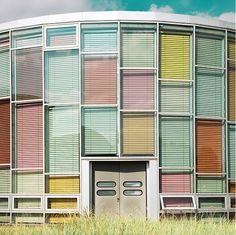 Colourful Blinds