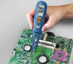Multímetro Com Pinça Para Medir Componentes SMD Hikari HK-SMD
