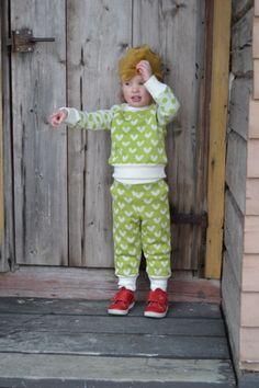 Johanna K design: woolen pants.