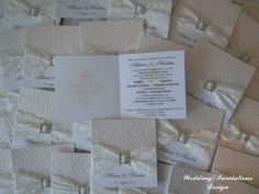Ivory and White / Ivory lace Invitation for Wedding, Quinceanera, Bachelorette Party, Masquerade on Etsy, $4.30