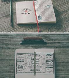 Hip Notebook MockUps
