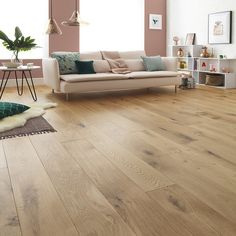 Bring nature right into your room with the wide and wondrous planks of Harlech Rustic Oak flooring. Get a free sample at our website. Wooden Floors Living Room, Rustic Wood Floors, Living Rooms, Natural Oak Flooring, Solid Wood Flooring, Timber Flooring, Hardwood Floor Colors, Light Hardwood Floors, Engineered Hardwood Flooring