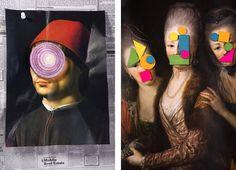 The humorous collages of Zeren Badar
