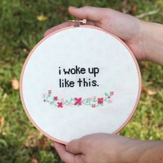 Some tips on how to cross stitch your best.