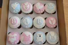 Baby Shower cupcakes | by Angelina Cupcake