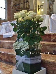Fioreria Oltre/ Wedding ceremony/ Church wedding flowers  https://it.pinterest.com/fioreriaoltre/fioreria-oltre-wedding-ceremonies/