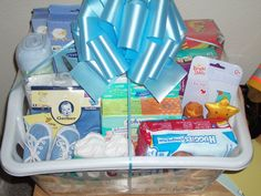 Essential Baby Gift Basket