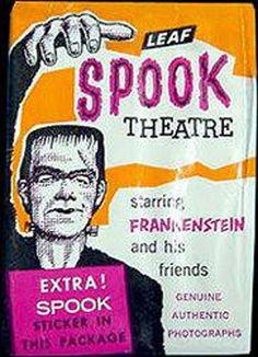 Spook Theatre wax wrapper
