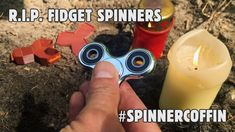 [video] Spinner Coffin - Accommodating the Death of Fidget Spinners (3D printed). Click 'Visit' for video.