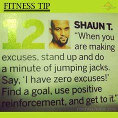 Shaun T Fitness Tip #ShaunT #Insanity #Fitness #Tips