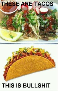 The difference between Mexican food and the others....