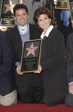 Donny And Marie Osmond Hollywood Walk Of Fame.I loved listening to Donny & Marie.Please check out my website thanks. www.photopix.co.nz