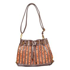 Snake Strip Drawstring Hobo Sun, $45, now featured on Fab.