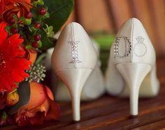 I would definitely do this on my wedding shoes. Cute Wedding Ideas, Perfect Wedding, Our Wedding, Dream Wedding, Wedding Inspiration, Wedding Stuff, Perfect Bride, Wedding Dreams, Wedding Things