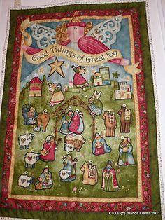 Nancy Halvorsen's advent calendar