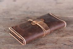 Fancy - Handmade Leather iPhone Wallet