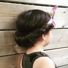 updo+with+a+headband+for+little+girls