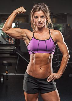 Jen Jewell's nutrition philosophy is simple: find balance. No calorie-counting or food-weighing for this fitness queen! She stays ripped year round with moderate and clean meals.