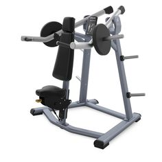 We have the Precor Discovery Series Plate Loaded Shoulder Press for sale. Strength Training Equipment, No Equipment Workout, Hammer Machine, Commercial Fitness Equipment, Gym Accessories, Easy Video, Workout Machines, Health Club, Discovery