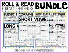 Fluency Sentences - Roll & Read