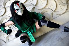 Cheshire (Young Justice) cosplay