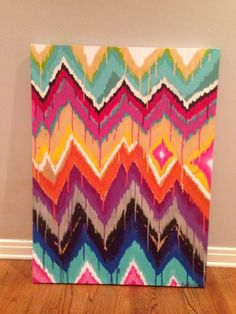 chevron painting - Google Search